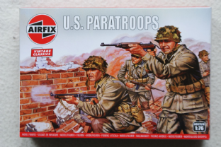 Airfix 1/72 AX00751V US Paratroopers (WW2)